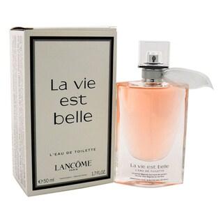 Lancome La Vie Est Belle Women's 1.7-ounce L'Eau de Toilette Spray (Tester)