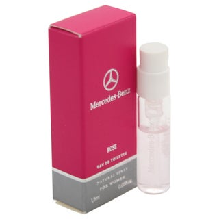 Mercedes-Benz Rose Women's 0.05-ounce Eau de Toilette Spray Vial (Mini)