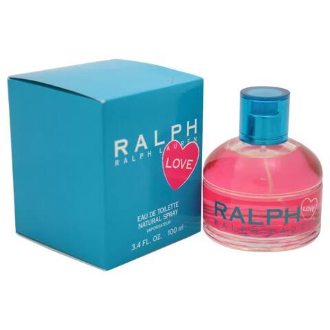 Ralph Lauren Ralph Love Women's 3.4-ounce Eau de Toilette Spray - Clear