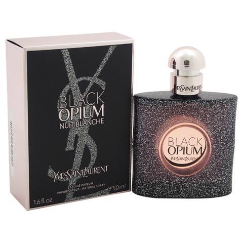 Yves Saint Laurent Black Opium Nuit Blanche Women's 1.6-ounce Eau de Parfum Spray