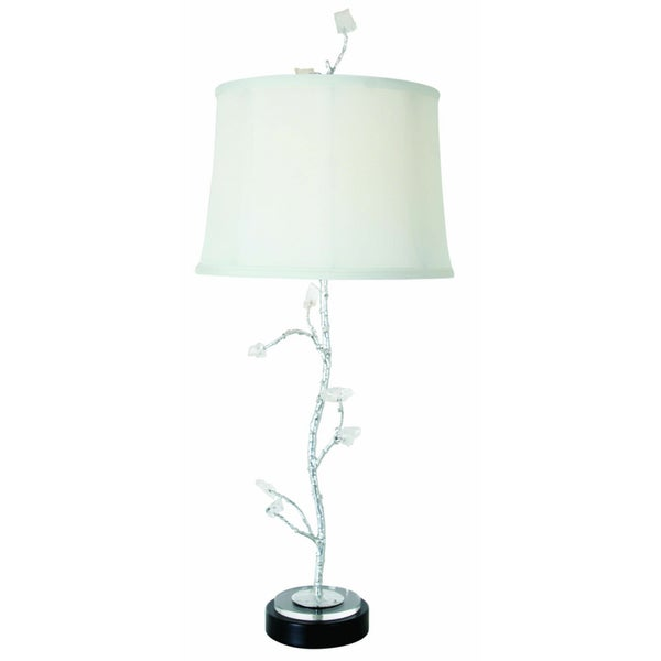 Van Teal Chill Silver Metal Table Lamp