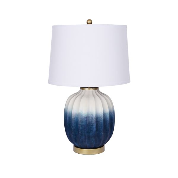 Catalina Dawson Blue Ceramic Table Lamp