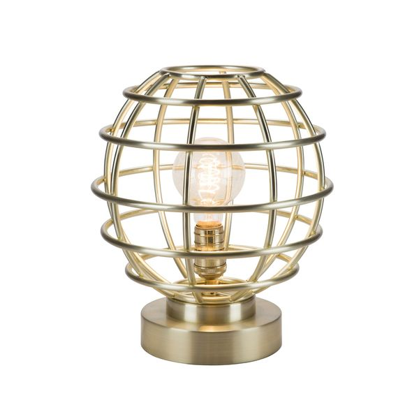 Catalina Lighting Brenner Metal Cage Accent Lamp