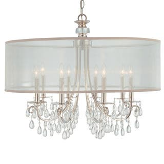 Crystorama Hampton Collection 8-light Polished Chrome Chandelier https://ak1.ostkcdn.com/images/products/14799027/P21318490.jpg?impolicy=medium