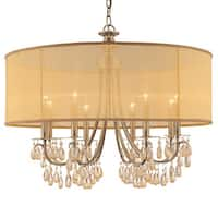 Antique Brass 8-light Chandelier