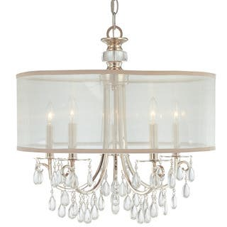 Crystorama Hampton Collection 5-light Polished Chrome Chandelier https://ak1.ostkcdn.com/images/products/14799049/P21318505.jpg?impolicy=medium