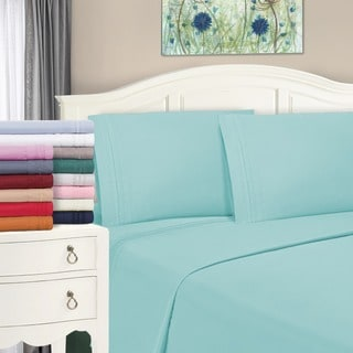 Superior Infinity Wrinkle Resistant Microfiber Embroidered Pillowcase Set (Set of 2)