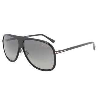 Tom Ford FT0462F 01D Unisex Black Frame Grey Polarized Lens Sunglasses