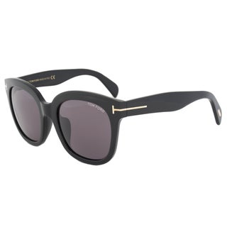 Tom Ford FT0406 Women's Black Frame Grey Lens Sunglasses