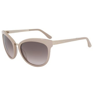 Tom Ford Emma FT0461 Women's Blush Pink Frame and Rose Gold Brown Gradient Lens Sunglasses