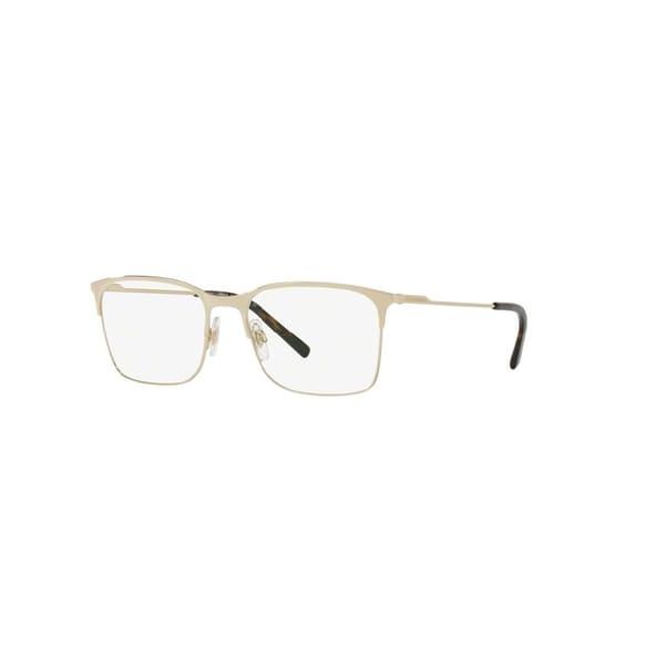 a5c18e47f646 ... Accessories     Eyeglasses     Prescription Glasses. Dolce  amp  Gabbana  Men  x27 s DG1289 488 54 Square Metal Gold Clear