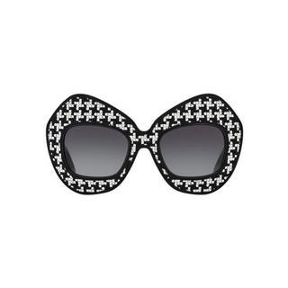 Burberry Men's BE2247 3001 54 Square Plastic Black Clear Eyeglasses