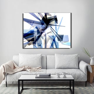 Ready2HangArt Indoor/Outdoor Wall Decor 'Vibrant Geo IV' in ArtPlexi by NXN Designs