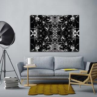 Ready2HangArt Indoor/Outdoor Wall Decor 'Dark Splashes II' in ArtPlexi by NXN Designs