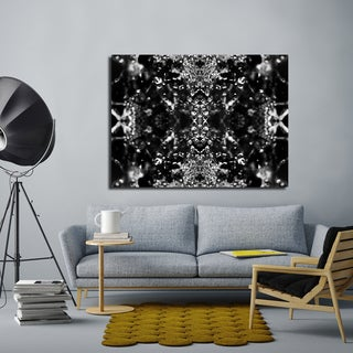 Ready2HangArt Indoor/Outdoor Wall Decor 'Dark Splashes II' in ArtPlexi by NXN Designs