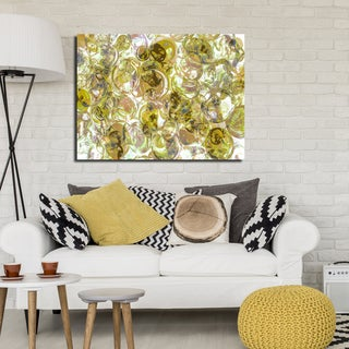 Ready2HangArt Indoor/Outdoor Wall Decor 'Color Clusters IV' in ArtPlexi by NXN Designs