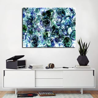 Ready2HangArt Indoor/Outdoor Wall Decor 'Color Clusters' in ArtPlexi by NXN Designs