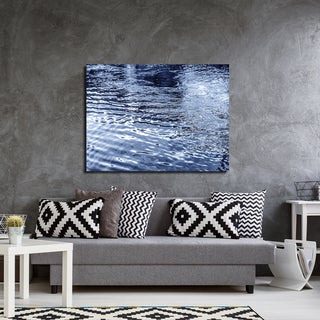 Ready2HangArt Indoor/Outdoor Wall Decor 'Blue Tranquility VII' in ArtPlexi by NXN Designs - Blue