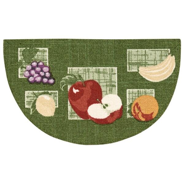 Rug Squared Milford Green Mat