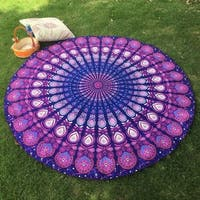 60-inch Round Bohemian Hippie Throw
