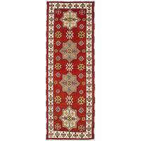eCarpetGallery Royal Kazak Red Wool Hand-knotted Rug (2'9 x 8'0)