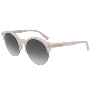 Tom Ford FT9358 Unisex Blush Pink Frame Grey Gradient Lens Sunglasses