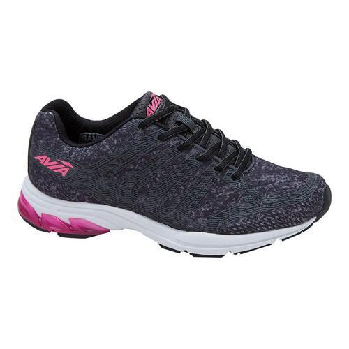 Women's Avia Avi-Versa Running Sneaker Iron Grey/Black/Pi...