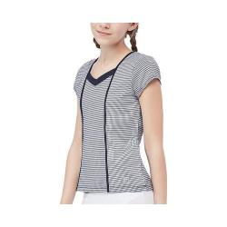 Girls' Fila Gingham Cap Sleeve Top Peacoat Gingham/Peacoat|https://ak1.ostkcdn.com/images/products/148/617/P20477145.jpg?impolicy=medium