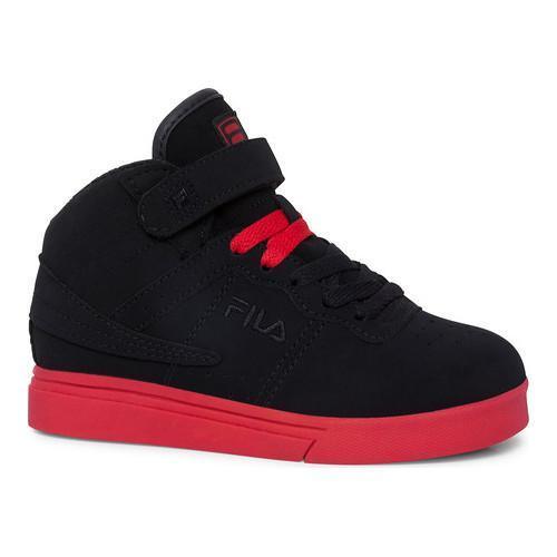 Children's Fila Vulc 13 Black/Black/Fila Red
