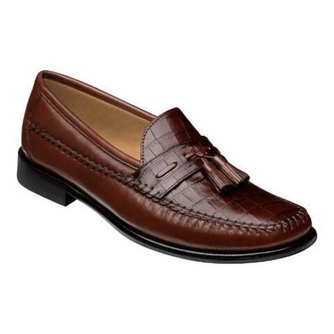 Men's Florsheim Pisa Cognac Nappa/Croco Print Leather