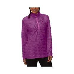 Women's Fila On The Run Half Zip Shirt Sparkling Purple/Thistle