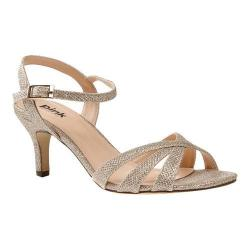 Women's Pink Paradox London Shelby Sandal Champagne Synthetic