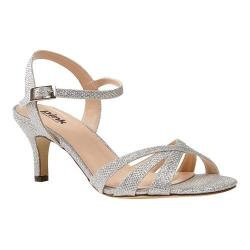 Women's Pink Paradox London Shelby Sandal Silver Synthetic