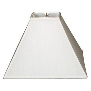 Royal Designs Square Sharp Corner Basic Lamp Shade, White, 6 x 18 x 13