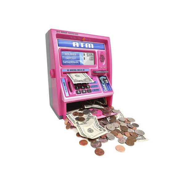 Ben Franklin Pink Talking ATM Machine