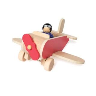 Manhattan Toy MIO Airplane + Pilot