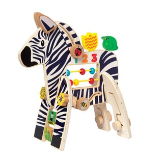 Manhattan Toy Wooden Safari Zebra