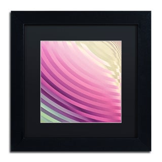 Color Bakery 'Satin III' Matted Framed Art