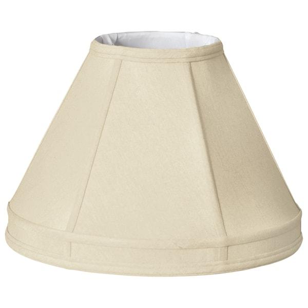 Royal Designs Empire Gallery Basic Lamp Shade, Beige, 7 x 16 x 11