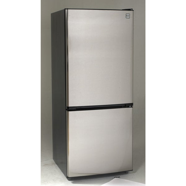 Avanti FFBM102D3S 10.2 Cu Ft Bottom Freezer Frost Free Refrigerator ...