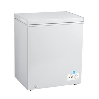 Avanti CF50B0W 5 Cu Ft Chest Freezer White
