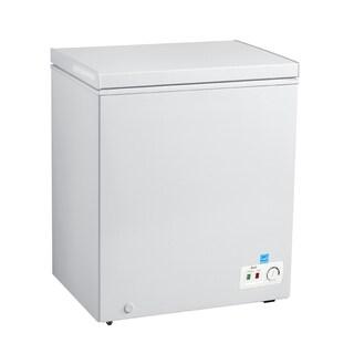 Avanti CF50B0W 5 Cu Ft Chest Freezer White