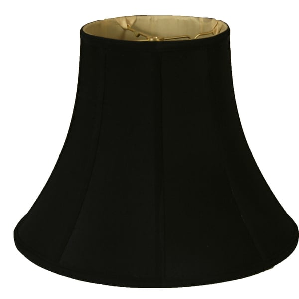 Royal Designs True Bell Lamp Shade, Black, , 8 x 16 x 12.625, BS-704-16BLK