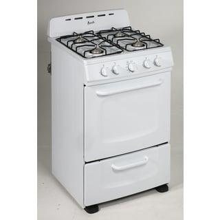stove 24 inch. avanti gro24p0w 24 inch freestanding gas range white stove