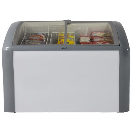 Avanti CFC83Q0WG 9.3 Cu Ft Commercial Listed Convertible Chest Freezer or Refrigerator White