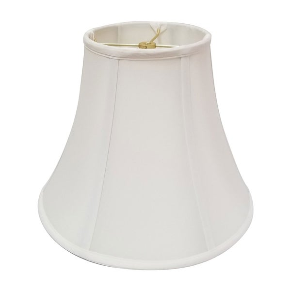 Royal Designs True Bell White Lamp Shade, 8 x 16 x 12
