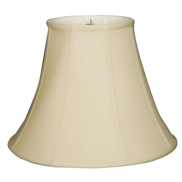 Royal Designs True Bell Lamp Shade, Beige, 8 x 16 x 12.625, BS-704-16BG
