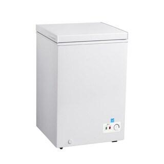 Avanti CF35B0W 3.5 Cu Ft Chest Freezer White