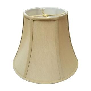 Royal Designs True Bell Lamp Shade, Antique Gold, 7 x 14 x 11.5, BS-704-14AGL
