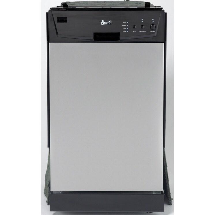 Avanti DW18D3SE Built-in Dishwasher stainless Steel (Silv...